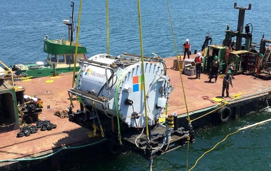 مایکروسافت در اعماق اقیانوس دیتاسنتر میسازد